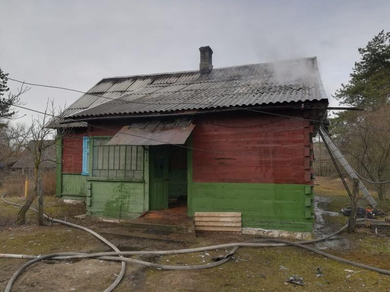 В д. Збунин Брестского района при пожаре в огне погибла хозяйка дома